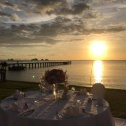table-setting-sunset-wedding-intercon-samui