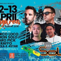 Songkran-Solo Bar-April 2017