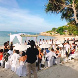 Beach Wedding Ceremony Melati
