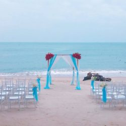 Lamai Beach wedding