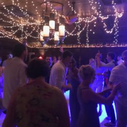 Rockys Resort Wedding Dance floor