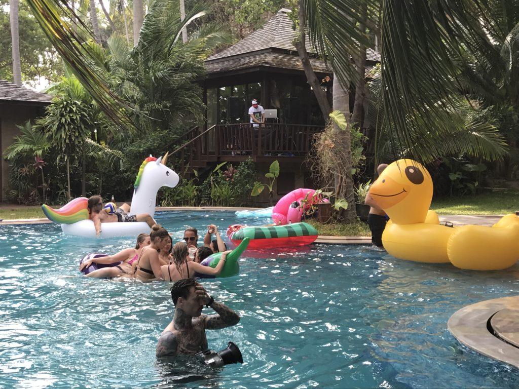 IMG 6891 2 1024x768 - Jesse & Courtney's Wedding - Villa Kalyana, Laem Sor, Samui