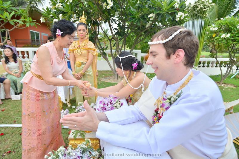 Thai Wedding Ceremony Orathay Victor 16 - A TRADITIONAL THAI WEDDING CEREMONY