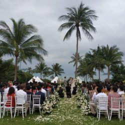 Samujana Lawn Wedding